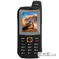 Мобильный телефон Sigma X-treme 3SIM (GSM+CDMA) Black (4827798524428)