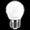 Светодиодная лампа 4W G45 Е27 MAXUS 3000К/4100К, фото 2