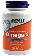Now Omega-3 100 softgels caps