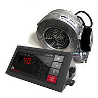 Комплект автоматики для твердотопливных котлов KG Elektronik SP-30 + вентилятор DP-02 (Новинка)
