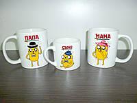 """Чашки для всей семьи """"Adventure Time - Время Приключений"""""""