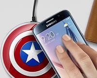 "Беспроводное зарядное устройство ""Супергерои"" Wireless Charger Qi"