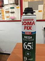 Монтажная ппена Soma FIX проф MEGA plus 850 мл зима S997