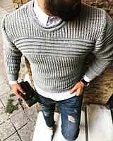 Мужской свитер плотный и тёплый ткань: вязка Турция Отличное качество Tурция