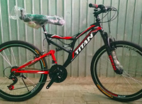 Горный велосипед Titan Ghost 26 (2018) моноблок new