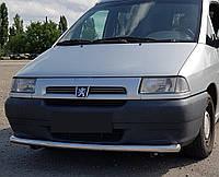 Кенгурятник одинарный ус на Peugeot Expert (1995-2007) Пежо Експерт PRS