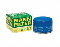 Фильтр масляный W-914/2 MANNFILTER (Германия)