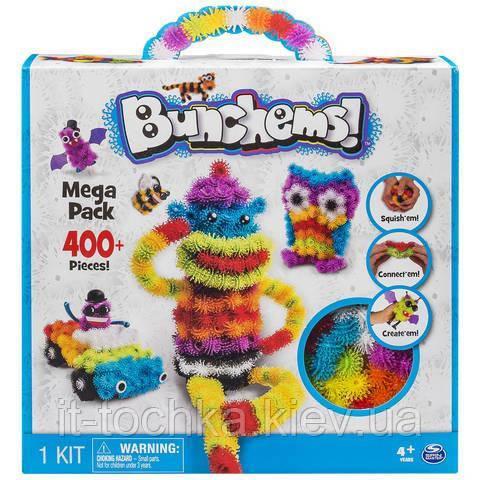 Конструктор липучка same toy bunchems nf8988-1ut на 400 деталей
