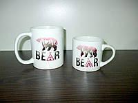 """Кружки для всей семьи """"Медведи"""",мама и малыш"""
