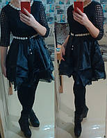 Платье вечернее Балерина 850 черный S