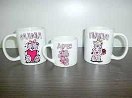 """Гуртки для всієї родини """"Ведмедики Тедді"""", тато, мама, дочка"""