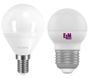 Лампы светодиодные шарики (G45)