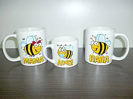 """Гуртки для всієї родини """"Бджоли"""", тато, мама, дочка"""