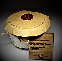 арома свеча эко-ароматерапия массаж- с эфирным маслом  Ванили(Абсолют)160гр Д=8,3см Н=6см