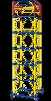 Кол-во секций + базовый блок 16+1