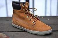 Ботинки мужские Timberland светло-коричневые. Кожа.