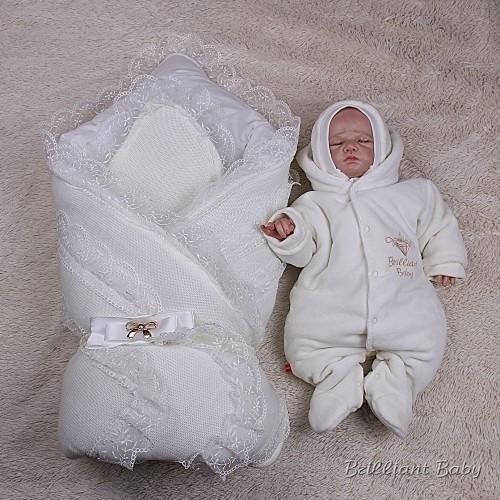 Набор на выписку для новорожденных Шарлота+Brilliant Baby (айвори)