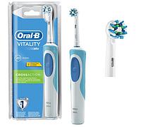 Электрическая щетка Oral-B Vitality, 2 насадки в комплекте