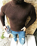 Мужской свитер гольф средней - полотно ткань: вязка Турция Отличное качество Tурция