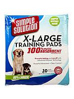 Simple Solution Пеленки для животных, большие, 10 шт. 71x76см