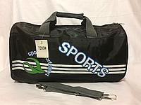 Спортивная чёрная сумка, фото 1
