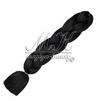 Канекалон для кос, черный
