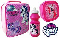 Набор: ланчбокс, контейнер для завтрака и бутылочка Мой Маленький Пони Дисней