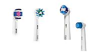 Насадки для зубной щетки ORAL-B 4 шт. (Sensitive, Precision Clean, 3D-White, Cross Action)