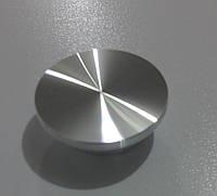 Верхнее крепление для стеклянных столов d 30 мм (пятак под УФ склейку)
