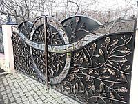 Кованые ворота – надежная защита и имидж владельца