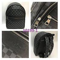 Рюкзак LV Louis Vuitton высокого качества (реплика Луи Витон) Monogram Black