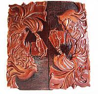"""Нарды Эксклюзивные.Авторская,ручная работа,навесы из нержавеющей стали с гравировкой """"Зависимые"""", фото 1"""