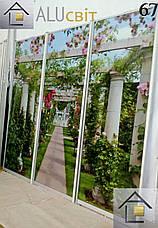 Фасады (двери)  фотопечать для шкафов купе, гардеробных, фото 3