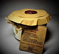 арома свеча подарочная эко - ароматерапия массаж-с эфирным маслом Мелиссы 160гр Д=8,3см Н=6см