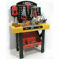 Игрушечный набор инструментов Моя мастерская с верстаком, 35 деталей, игрушки для мальчиков, развивающие игры