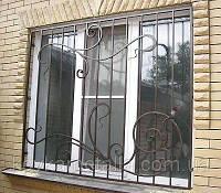 Кованые решетки – идеальная защита жилища