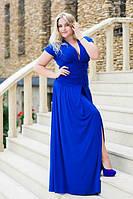 Платье батал женское длинное Лагуна № 573, фото 1