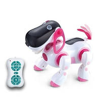Собака робот КИ КИ 2089, интерактивная игрушка, радиоуправляемая собака, Кибер пес кики 2079