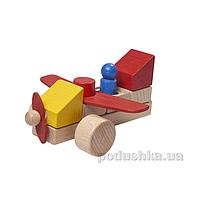Конструктор деревянный Самолет Nic NIC2132