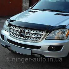 Мухобойка, дефлектор капота Mercedes ML164 2005-2011 EGR