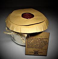 арома свеча эко подарочная- ароматерапия массаж- с эфирным маслом Вербены 160гр Д=8,3см Н=6см