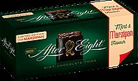 Шоколадные мятные пластинки After Eight Marzipan flavour с марципаном, 200г.
