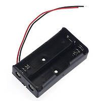 Держатель для батарей 2 x 18650 с проводами