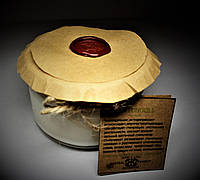 арома свеча эко подарочная -ароматерапия массаж- с эфирным маслом Пачули 160гр Д=8,3см Н=6см