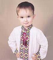 Вышиванки для мальчика из 100% натуральных тканей