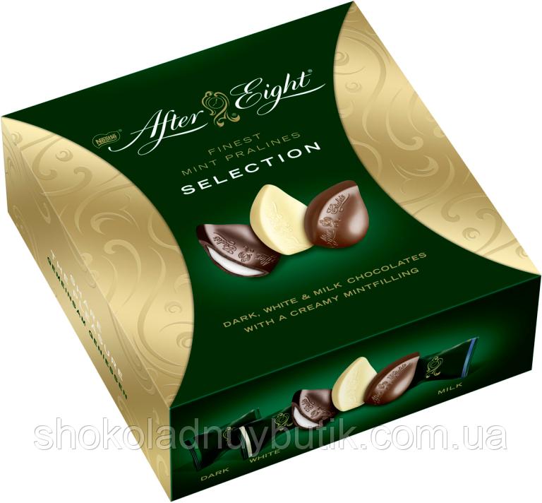 After Eight Selection Шоколадные мятные конфеты.
