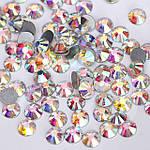 Стразы DMC Premium голограмма (crystal AB, ss12, 3.3 мм., упаковка-100 шт.), фото 3