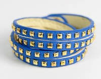 Женский кожаный браслет