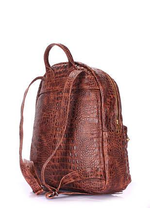 Рюкзак жіночий шкіряний POOLPARTY Mini, фото 2