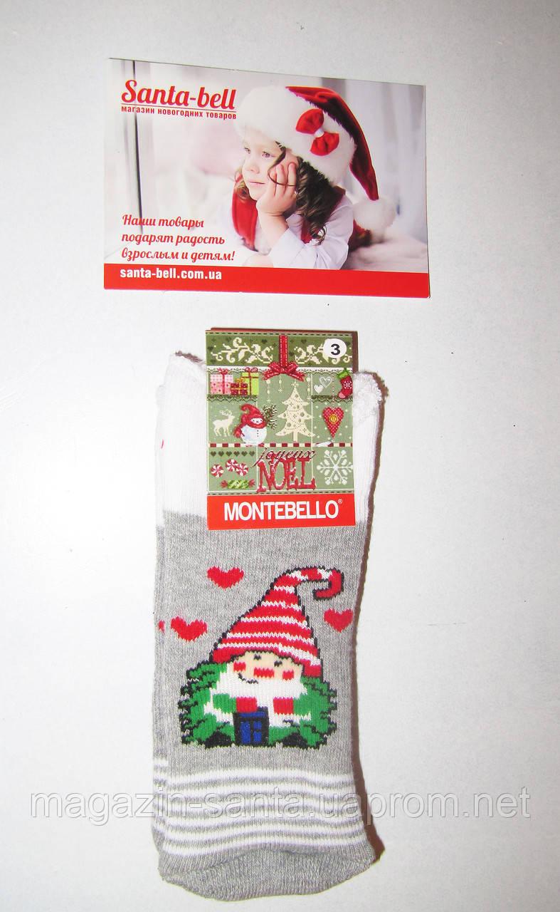 Новорічні шкарпетки дитячі зимові махрові всередині бавовна Туреччина розмір 1-2роки(1)